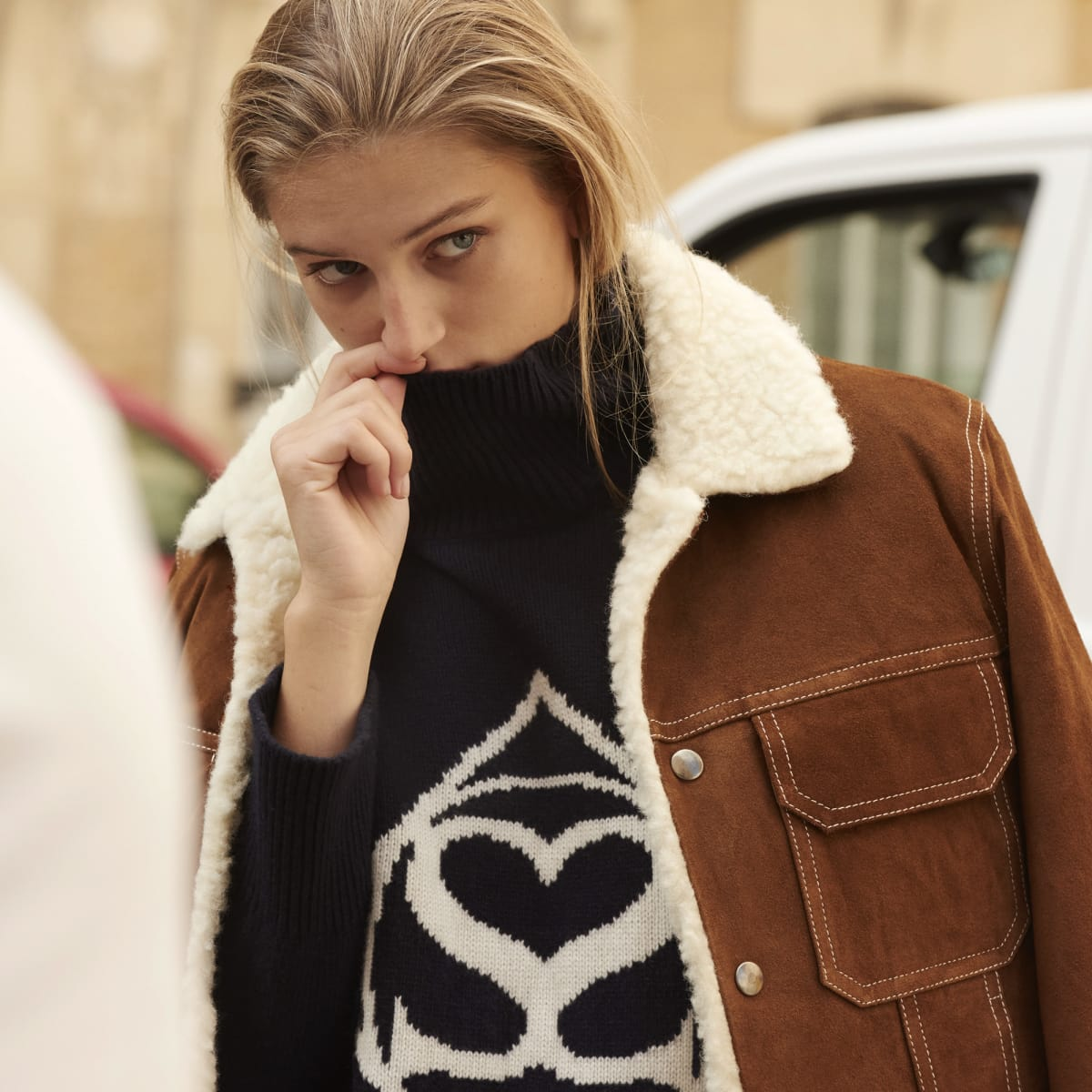 Sandro women's coat Paris