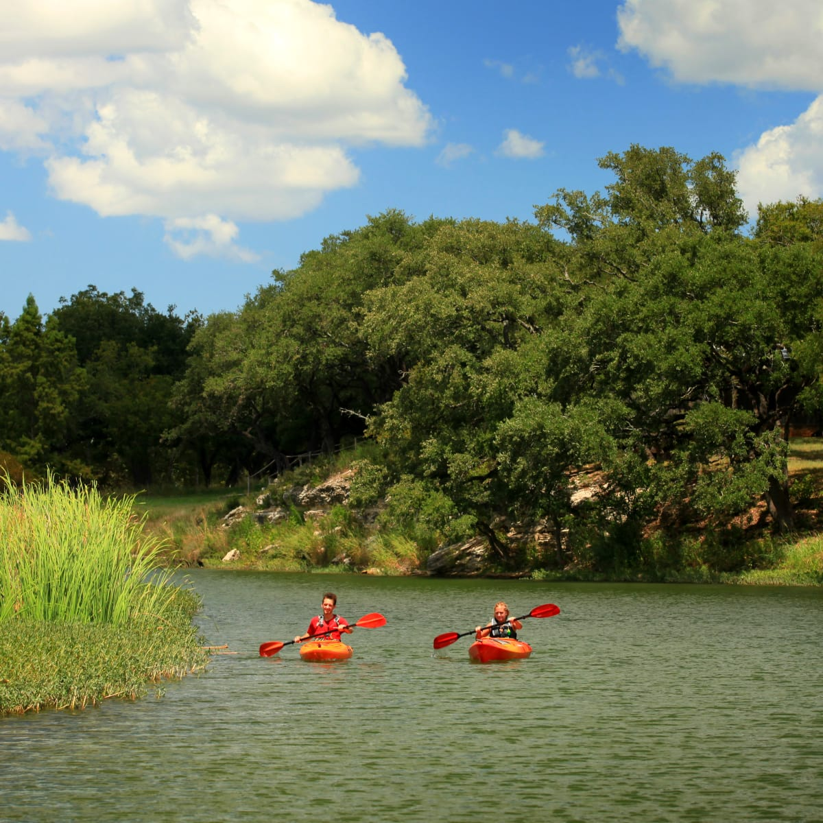 Onion Creek kayakers