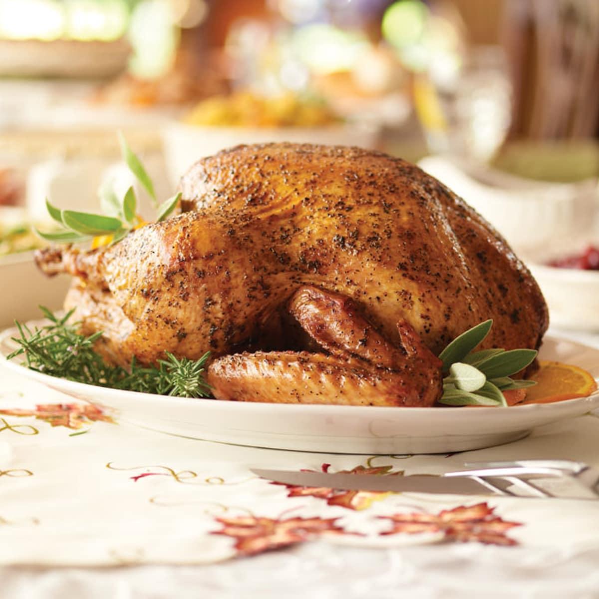 Pappas Bar-B-Q Thanksgiving turkey