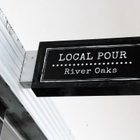 Local Pour in River Oaks, sign, March 2013