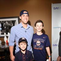 Houston, George Spring Bowling Event, June 2016, George Springer