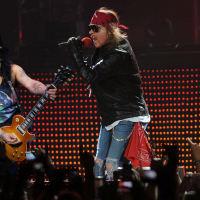 Slash and Axl Rose from Guns N' Roses