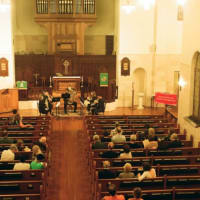 Houston Brass Quintet in concert