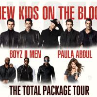 New Kids on the Block concert with Paula Abdul and Boyz II Men