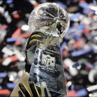 Super Bowl trophy