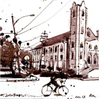 """Russian Cultural Center Our Texas presents """"This is Houston. Pages From My Sketchbook"""" opening reception"""