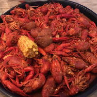 The Patio on Richmond crawfish