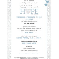 2013 Hearts of Hope Luncheon benefiting Bo's Place