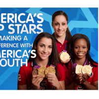 """Kids' Health Goes Gold"" with 2012 Olympians Gabrielle Douglas, Aly Raisman and Jordyn Wieber"