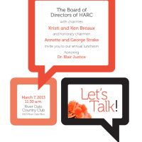 """Houston Aphasia Recovery Center Luncheon """"Let's Talk"""""""