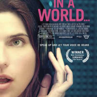 In A World poster starring Lake Bell