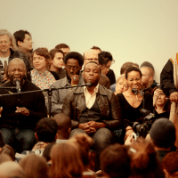 Theaster Gates and the Black Monks of Mississippi in concert
