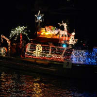 League City's 52nd Annual Christmas Boat Lane Parade