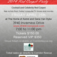 2014 Steele Red Carpet Party benefiting Rescued Pet Movements