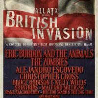 poster ACL live all atx British Invasion 2014