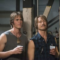Blake Jenner and Glen Powell in Everybody Wants Some!!