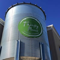 Thirsty Planet Brewing Company sign brewery Hill Country Circle Drive