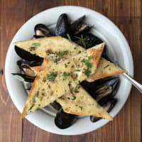 The Porch PEI mussels