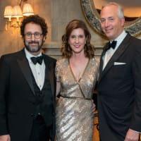 Inprint Gala Tony Kushner, Phoebe Tudor, Bobby Tudor