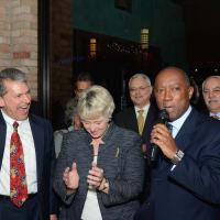 News, Mayor's Hispanic Advisory Board party, Dec. 2015, roland Garcia, Annise Parker, Sylvester Turner
