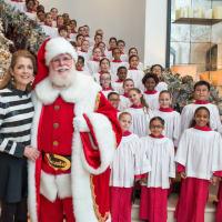 News, MD Anderson Santa's Elves, Dec. 2015, Paige Fertitta,