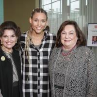 News, Shelby, Salvation Army luncheon, Nov. 2015, Linda McReynolds, Lolo Jones, Rose Cullen