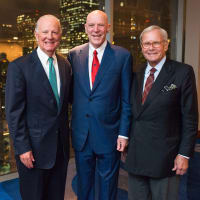 News, Shelby, MD Anderson Living Legend, Nov. 2015, James Baker, Bob McNair, Tom Brokaw