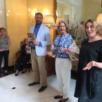 News, Shelby, Barbara Hines lunch on Venice, Oct. 2015, Toto Bergamo Rossi, Valentina xxx, Barbara Hines