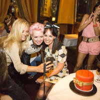 News, Shelby, Beth Muecke b'day, Oct. 2015 Page Parkes, Vivian Wise, Bethie and Andi Ruiz
