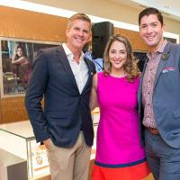 News, Shelby, IW Marks party, Sept. 2015, Dan Pederson, Evangelia Anagnostopoulos, Scott Konitzer