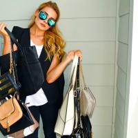 Houston, Kissue store opening, August 2015, handbags