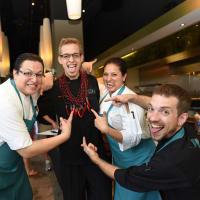 News, Shelby, Curry  Crawl , June 2015, Peska Seafood Culture Team
