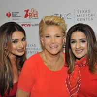 Go Red for Women luncheon Dr. Monica Patel, Joan Lunden, Sneha Merchant