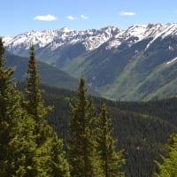 Aspen Colorado mountains