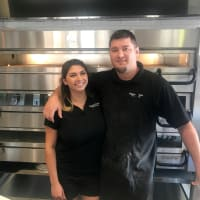 Pizaro's Pizza Nicole and Brad Bean