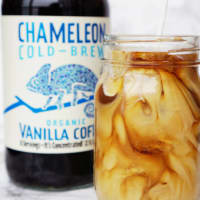 Chameleon cold brew iced coffee