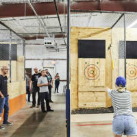 2017 Movember Axe Throwing Charity Event