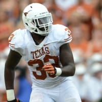Texas Longhorns linebacker Steve Edmond