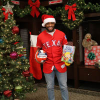Texas Rangers Cowboy Santas Toy Drive Finale