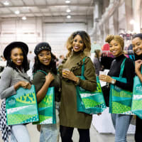 Houston, CultureMap Holiday Pop-Up Shop, November 2017, Jasmine Haynes, Deneige Broom, Creshema Murray, Ebony Fondren, Cindy Carter