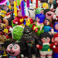 The Pinata Art Market