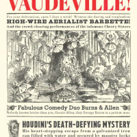 """Vaudeville!"" Exhibition Tour"