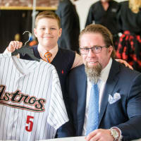 Houston, TCH Celebration of Champions, February 2018, Patient Champion Jeff Bagwell