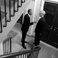 President Barack Obama and Denis McDonough