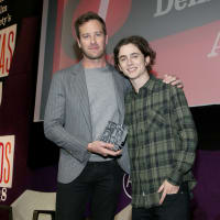 Armie Hammer Timothee Chalamet Texas Film Awards