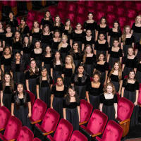 University  of Houson's Concert Chorale Women's Ensemble
