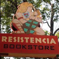 Austin photo: Places_Shopping_Resistencia Bookstore_Sign
