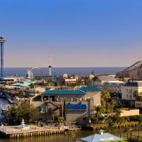 Kemah Boardwalk Bridge