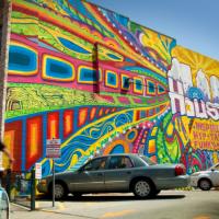 Houston mural
