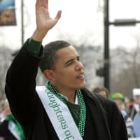 News_Steve Popp_St. Patrick's Day_Obama_St. Patrick's Day_by Tim Boyle
